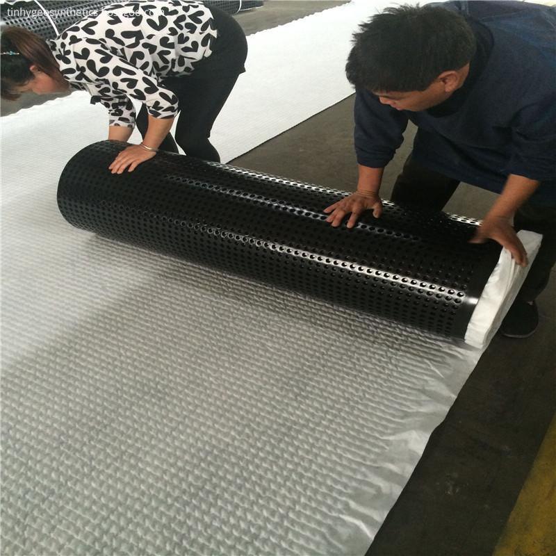Drainage Sheet Cutting