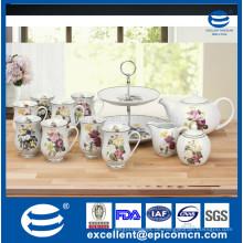 Dekorative Partei / Geburtstag / Hochzeit Cardbard 2 Schichten Kuchen Display Stand, Kuchen Dekoration Lieferant