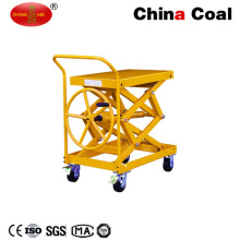 LC200 Walk Behind Hand Tipo de tornillo Lift Table Trolley
