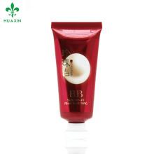 Tubo sin aire cosmético de la venta caliente Tubo vacío del maquillaje de la crema corporal plástica de los cosméticos cosméticos