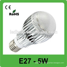 2015 dimmable IP65 E27 ampoules à LED Spot