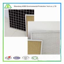 Filtro de ar de painel primário sintético lavável com eficiência G3 / G4