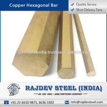 Best Quality Low Maintenance Easy to Join/ Install Copper Hexagonal Bar