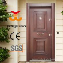 Luxury steel wood exterior turkish armored doors