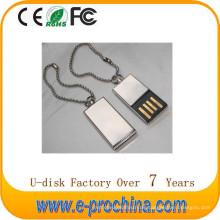 Heißer Verkauf fertigen Logo-Metallstift-Antrieb USB für Förderung besonders an