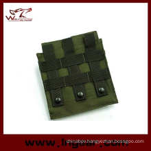 Tactical Airsoft Molle Double M4 Magazine Pouch for Outdoor Mag Bag