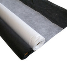 Non Woven Double-DOT Fusible Interlining with White Black