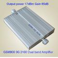 GSM-WCDMA 900 2100 MHz 3G Handy Signal Booster / 3G Signal Repeater / Handy Verstärker mit Antennadiscount Kostenlose Inspektion