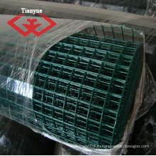 Темно-зеленый ПВХ покрытием проволоки сетки ограждений (TYC-0070)