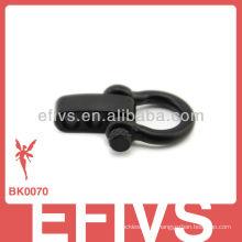 Весенняя черная регулируемая серьга 2013 года для браслета паракорд