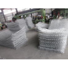 Galfan Hot Dipped Galvanized Gabion Box
