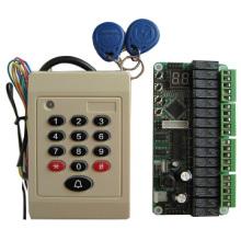 Controlador de cartão de identificação de parte do elevador