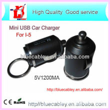34mm mini 5V1200MA USB Car Charger for iPhone4/4S/5
