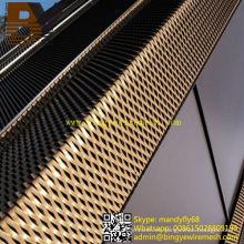 Paneles de perforación de aluminio para revestimientos de pared