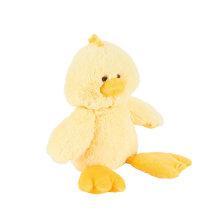 Animales de granja juguetes blandos peluche de peluche de juguete de pato amarillo para la venta