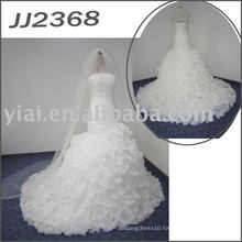 JJ2368 Elgant Hot Selling Full skirt mermaid Bridal Gown