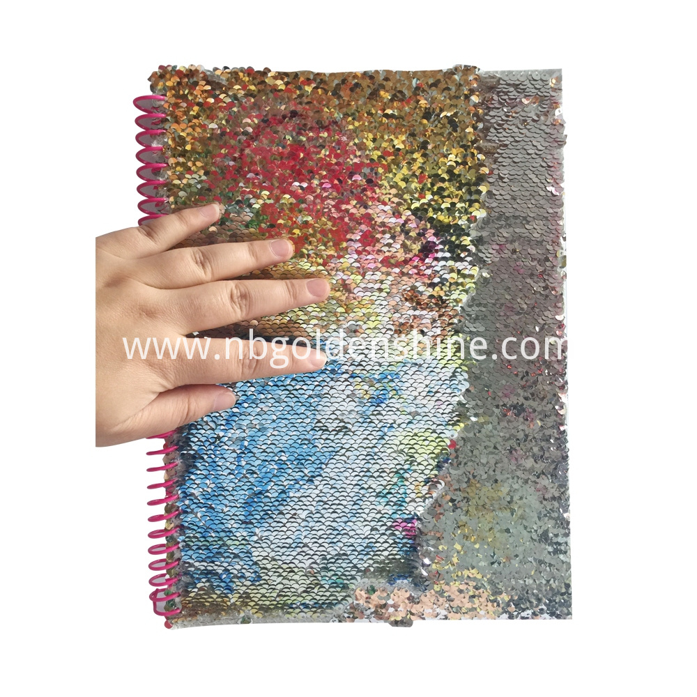 Sequin Deluxe Journal Notebook