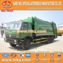 DONGFENG 6x4 16/20 m3 compacteur à ordures camion de chargement arrière moteur diesel 210hp avec mécanisme de pressage