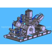 Compresseur d'air haute pression soufflant d'huile sans huile (Wws-8.5 / 35 110kw)