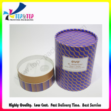 Customized Wholesale Skin Care Cream Paper Cylinder Gift Box