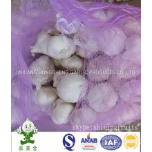 Chinese Normal White Garlic 5cm in Mesh Bag Packing