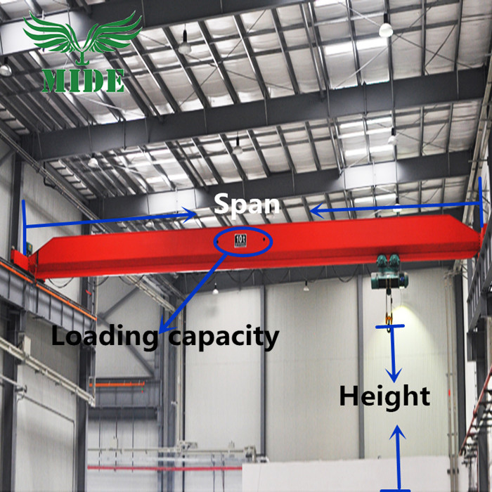 single beam bridge crane