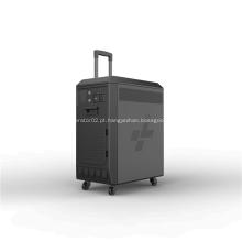 Bateria de ar portátil de alumínio para energia de emergência
