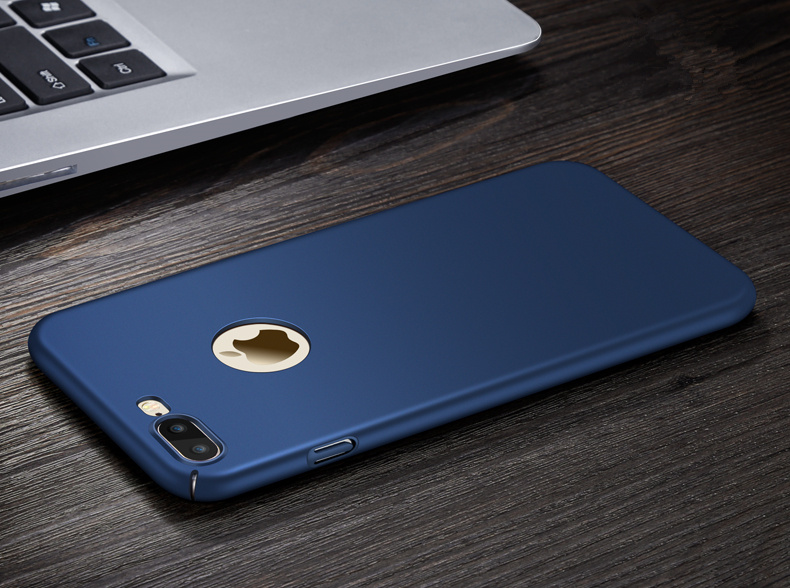 Blue hard phone case