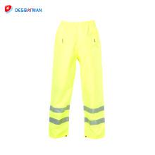 2018 nuevo producto mejores pantalones reflexivos del trabajo de la alta calidad del pantalón