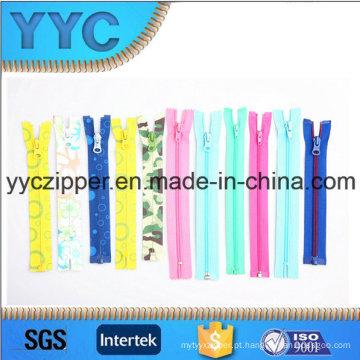 # 3- # 15 Nylon Zipper fechar fim Zipper aberto para vendas