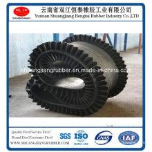 Fertilizer Conveying Belt Eith Corrugated Sidewall