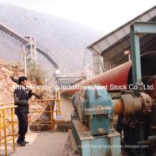 Power Plant Material Handling Pipe Belt Conveyor