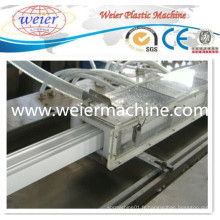 Profil de PVC de capacité élevée faisant la machine en plastique d'extrudeuse de machine