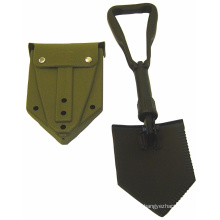 Foldable Carbon Steel Spade with Portable Pouch