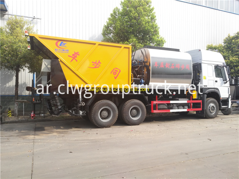 Synchronous Sealer Gravel Truck 3