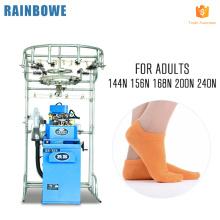 A mais popular máquina de tricô totalmente automática meias máquina soosan