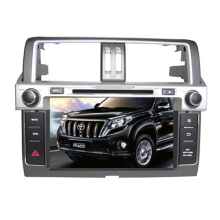 2DIN Car DVD Player Fit for Toyota Prado 2014 with Radio Bluetooth TV Stereo GPS Navigation System