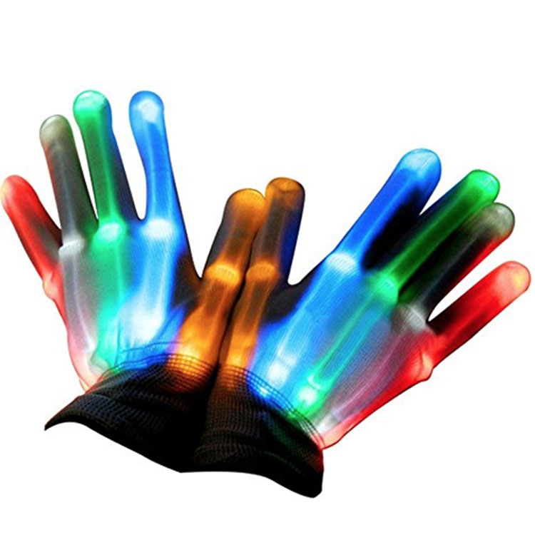 Holiday Gift Glowing Gloves