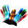 Holiday Gift Optic Fiber Led Flashing Glove Glowing