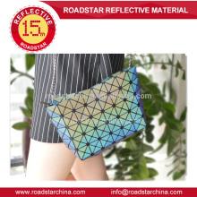 caliente venta de moda arco iris reflexiva femenina del bolso