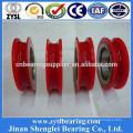 High quality U type wheel bearing 627z cabinet sliding door roller