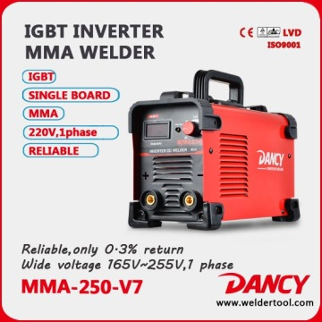 Factory price new design 50/60HZ inverter dc motor welder portable welding machine