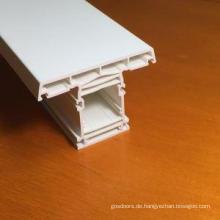Bleifreie UPVC-Türprofile in Weiß