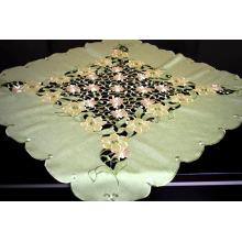 Tela de paño del bordado del color verde Nueva tela Fh237