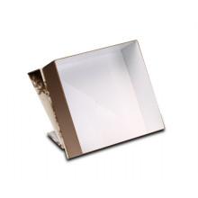 Boîte dépliante de déploiement de luxe de nouveau papier d'or de style