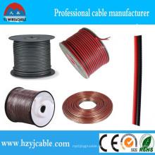 2 * 0.75mm2 Pure Kupfer-Doppelkerne PVC-beschichtetes Lautsprecherkabel