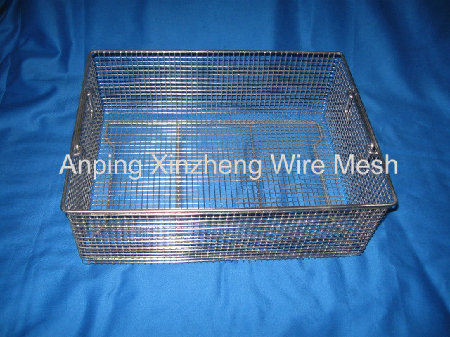 Disinfect Metal Mesh Basket