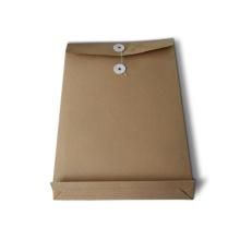 Impression de poche de fichier de papier Kraft personnalisé spécialisé