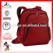 Nylon Backpack with Metal Zippers Laptop Compartment Bags