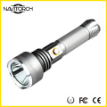 500m Wide Range Ultra Bright 810 Lumens Aluminum Rechargeable Flashlight (NK-2666)